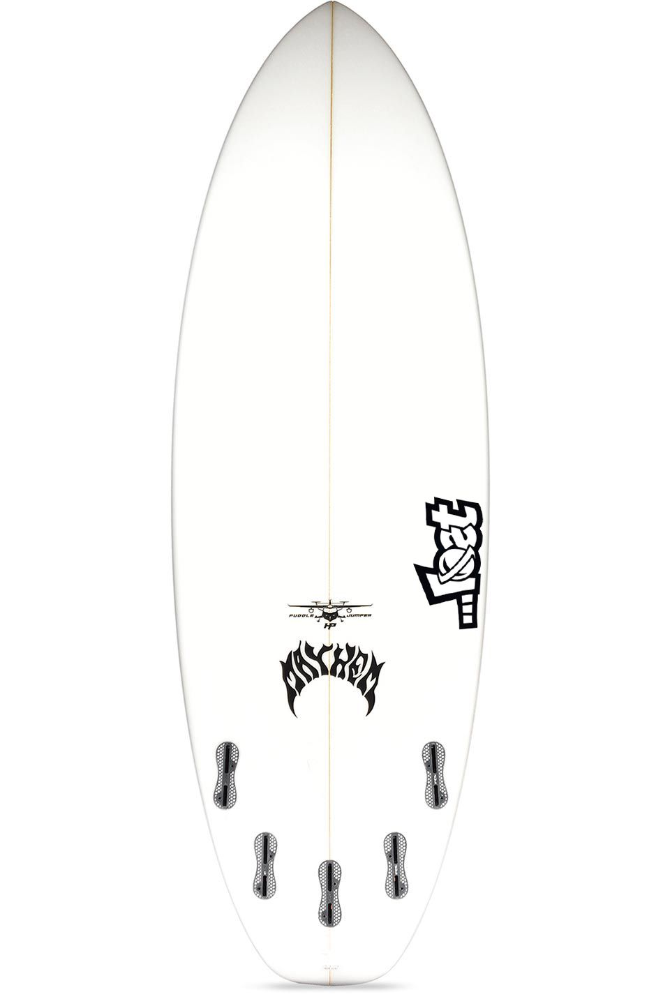 Prancha Surf Lost PUDDLE JUMPER HP 5'7 Squash Tail - White FCS II Multisystem 5ft7