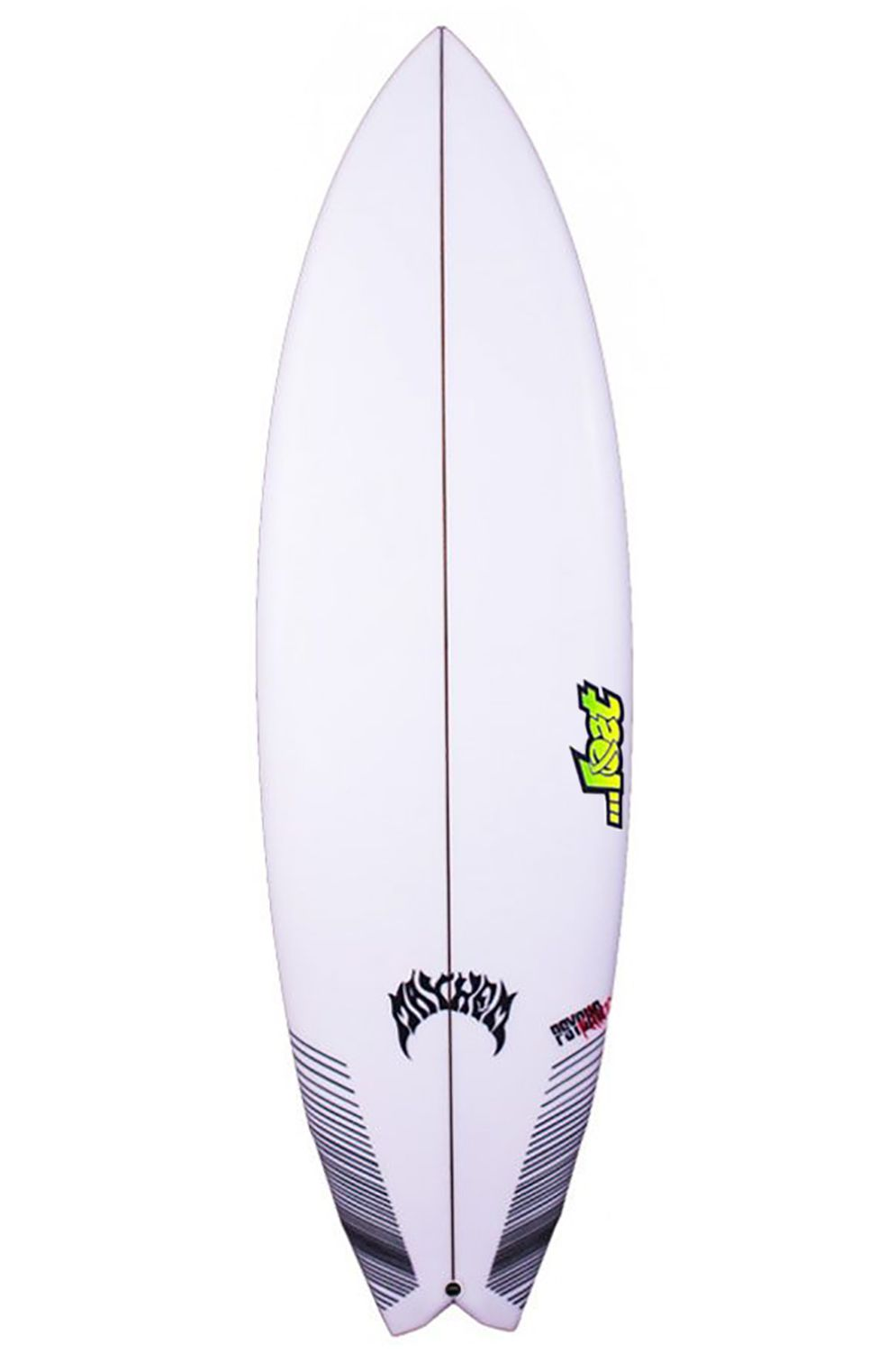 Prancha Surf Lost 5'7 PSYCHO KILLER Swallow Tail - White FCS II Multisystem 5ft7