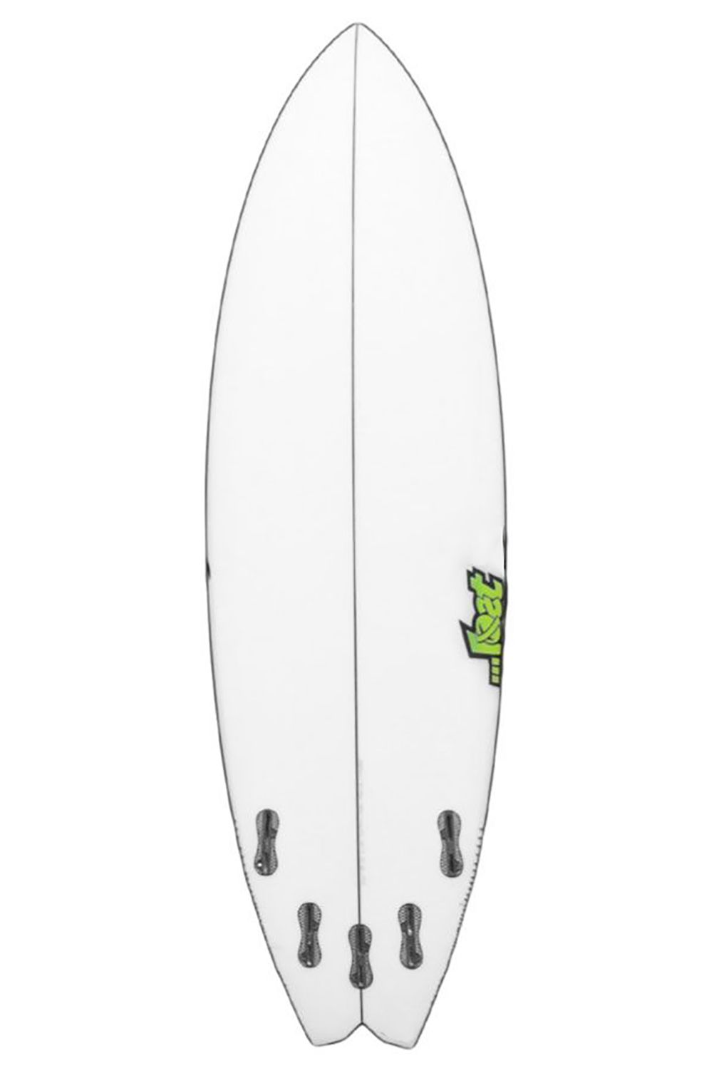 Prancha Surf Lost PSYCHO KILLER 5'11 Swallow Tail - White FCS II Multisystem 5ft11
