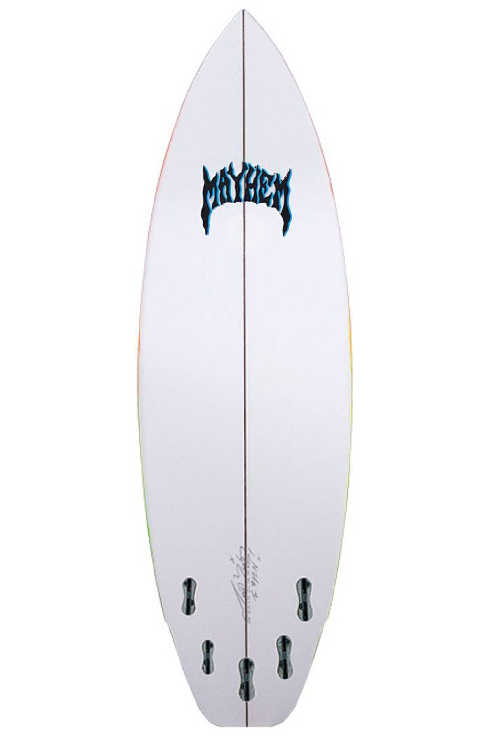 Prancha Surf Lost RAD RIPPER 5'8 Squash Tail - Color FCS II Multisystem 5ft8