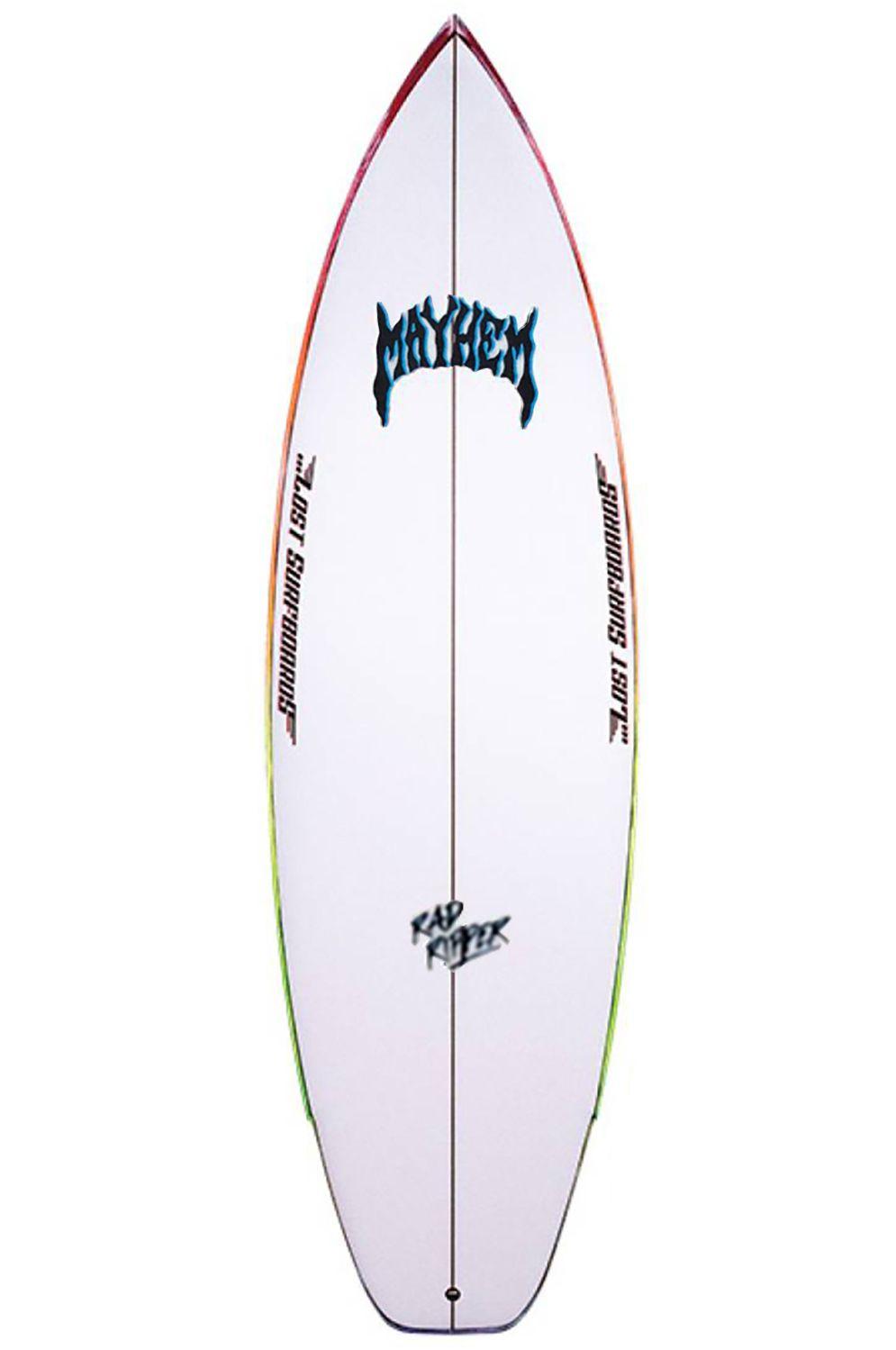 Lost Surf Board 6'1 RAD RIPPER Squash Tail - Color FCS II Multisystem 6ft1