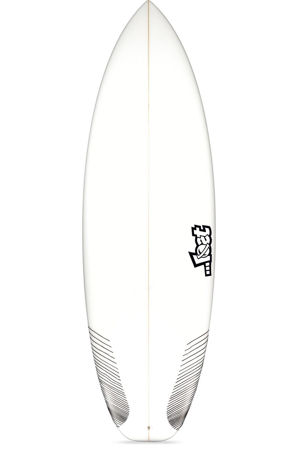 Lost Surf Board 5'11 PUDDLE JUMPER HP Squash Tail - White FCS II Multisystem 5ft11