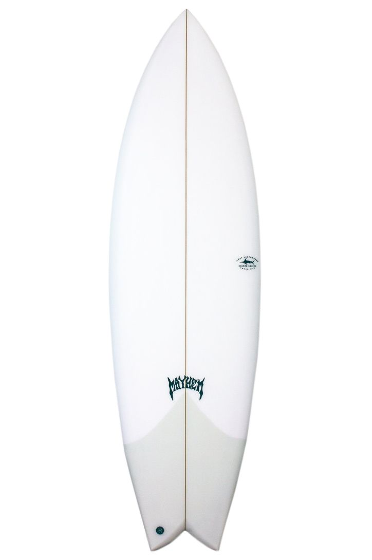 Lost Surf Board 5'8 SWORD FISH Fish Tail - White FCS II Multisystem 5ft8