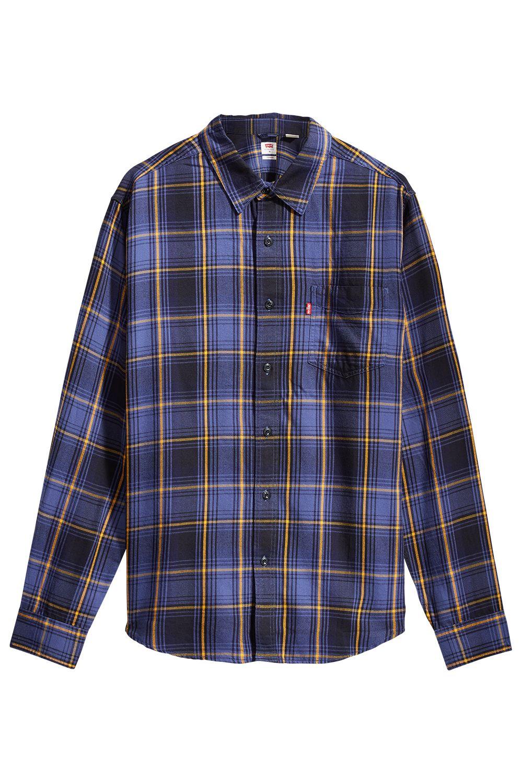Levis Shirt SUNSET 1 POCKET STANDARD Azriel Golden Yellow