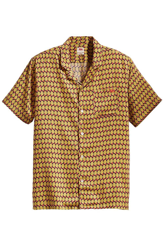 Levis Shirt CUBANO SHIRT Poudretteite Blue Print
