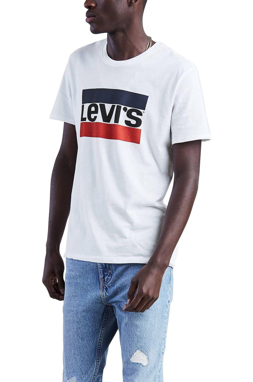 T-Shirt Levis SPORTSWEAR LOGO GRAPHIC 84 Sportswear Logo White White