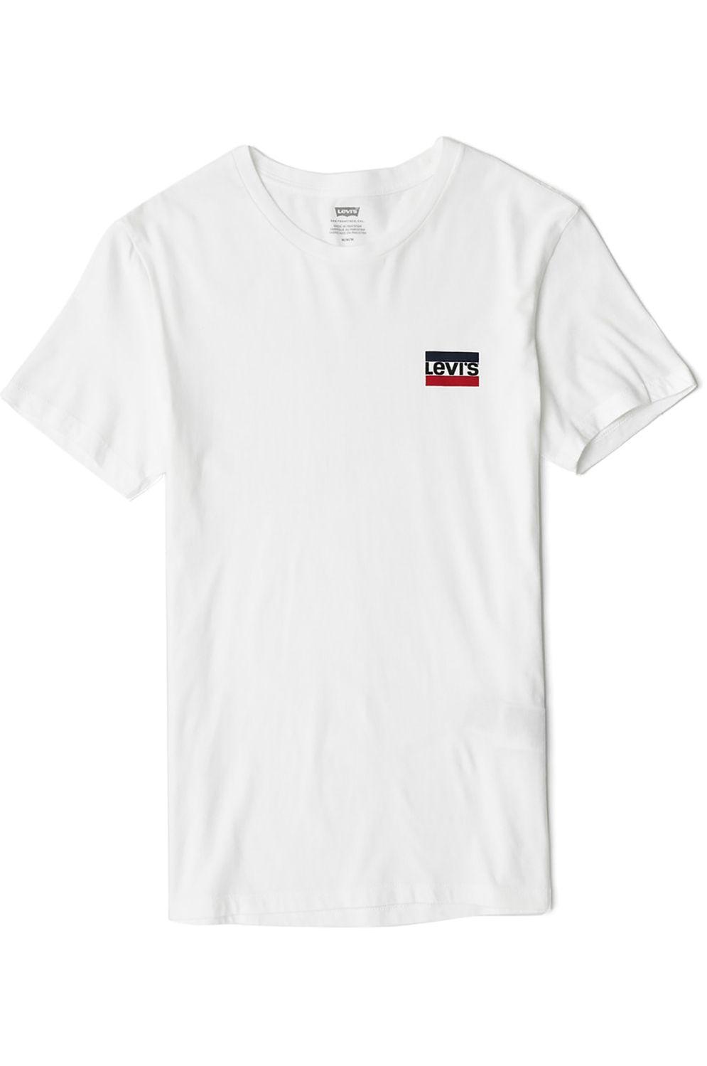 Levis T-Shirt CREWNECK GRAPHIC Sw White