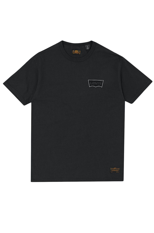 T-Shirt Levis SKATE GRAPHIC SS TEE Lsc Black Core Batwing Black