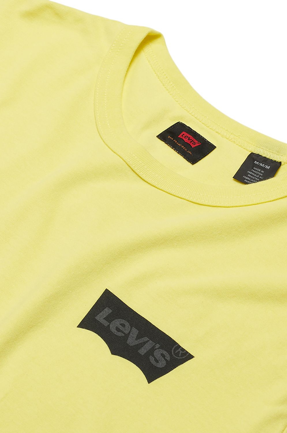T-Shirt Levis SKATE GRAPHIC SS TEE Lsc Limelight Core Batwing Black