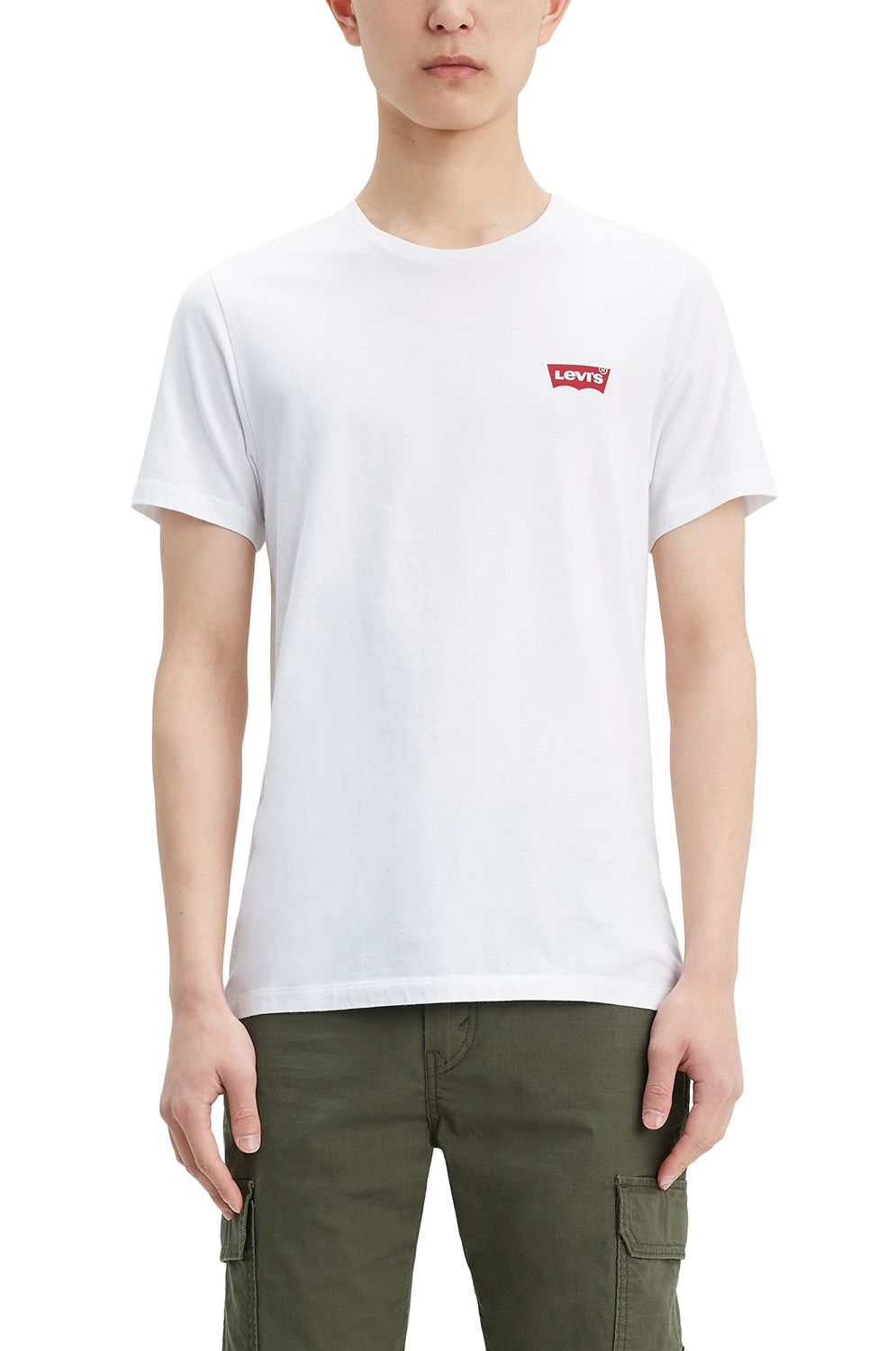 T-Shirt Levis CREWNECK GRAPHIC Hm White
