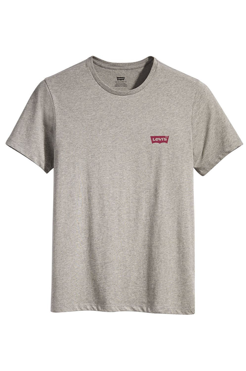T-Shirt Levis CREWNECK GRAPHIC Mid Tone Grey Heather