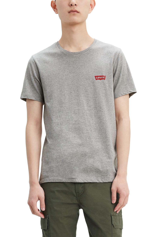 Levis T-Shirt CREWNECK GRAPHIC Mid Tone Grey Heather
