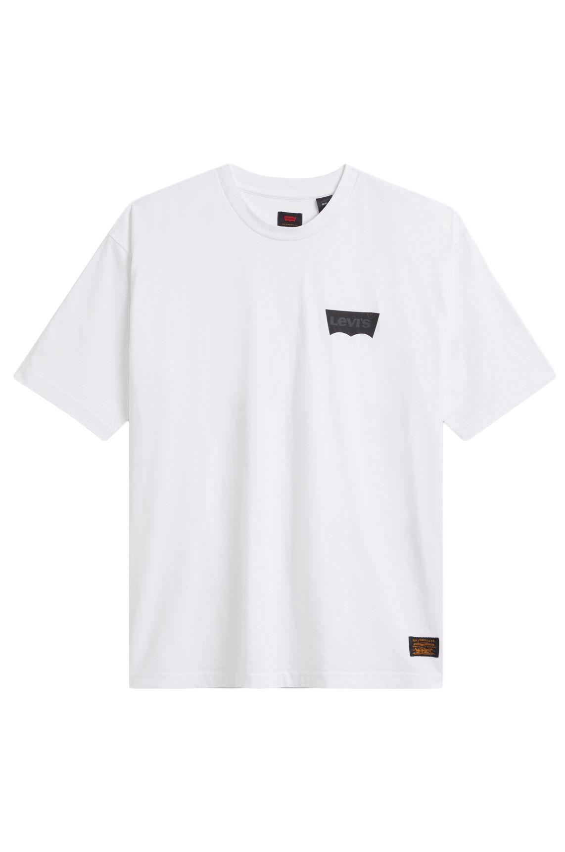 T-Shirt Levis SKATE GRAPHIC BOX Lsc White Core Batwing Black