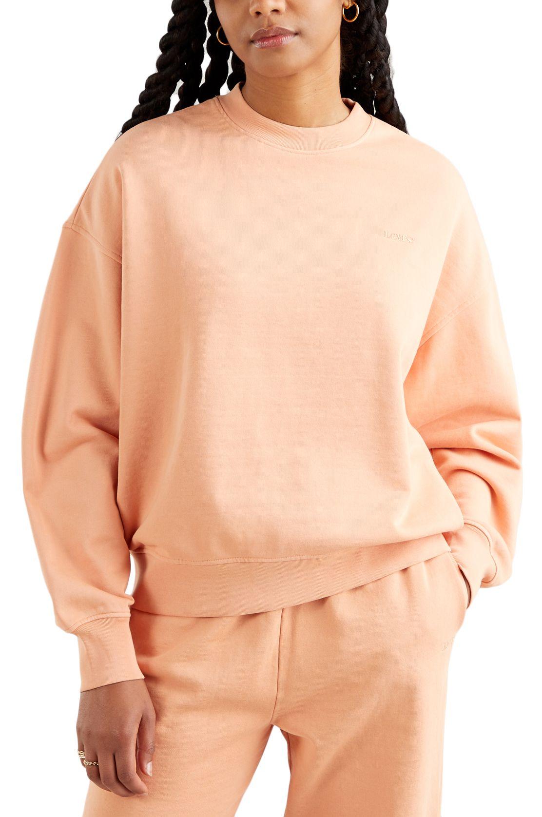 Sweat Basica Levis WFH SWEATSHIRT Peach Bloom Fa166110