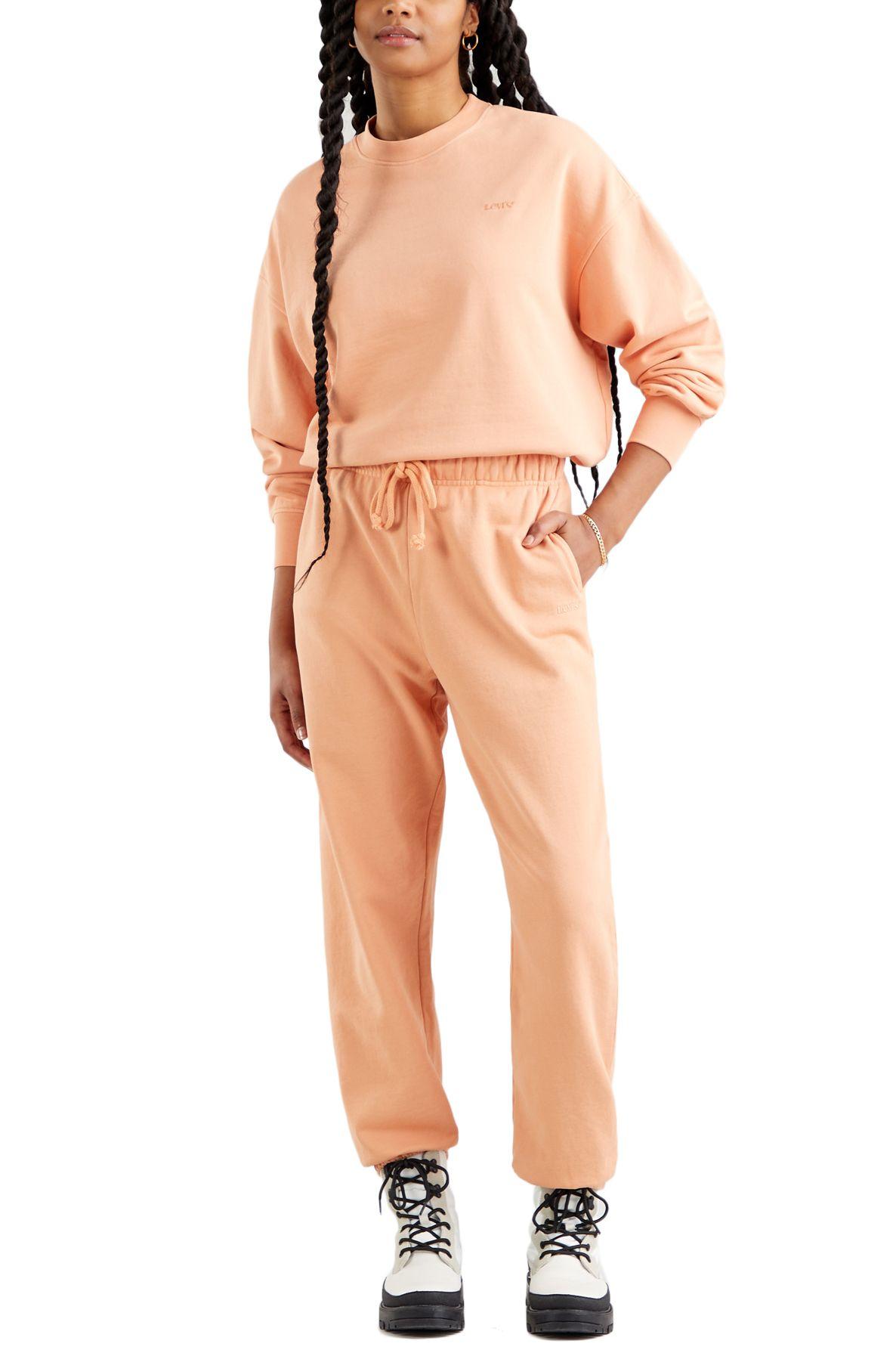 Calças Levis WFH SWEATPANTS Garment Dye Fa166116 Peach Bloom