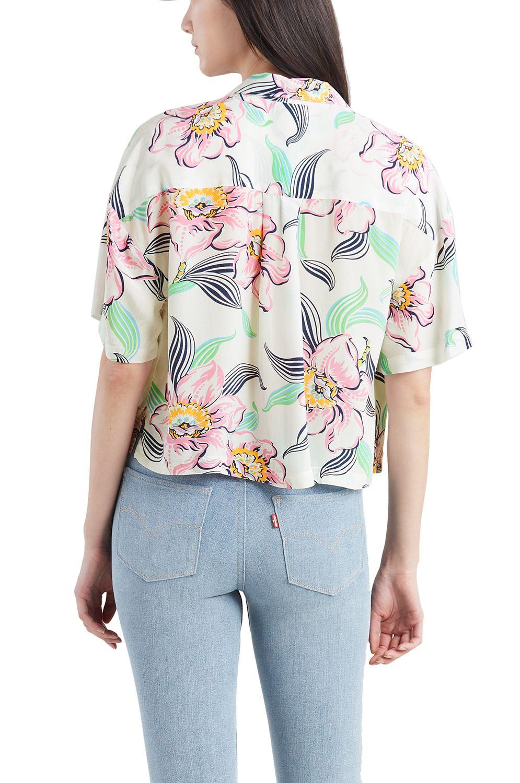 Levis Shirt MAHINA Lineartropical Whisper White