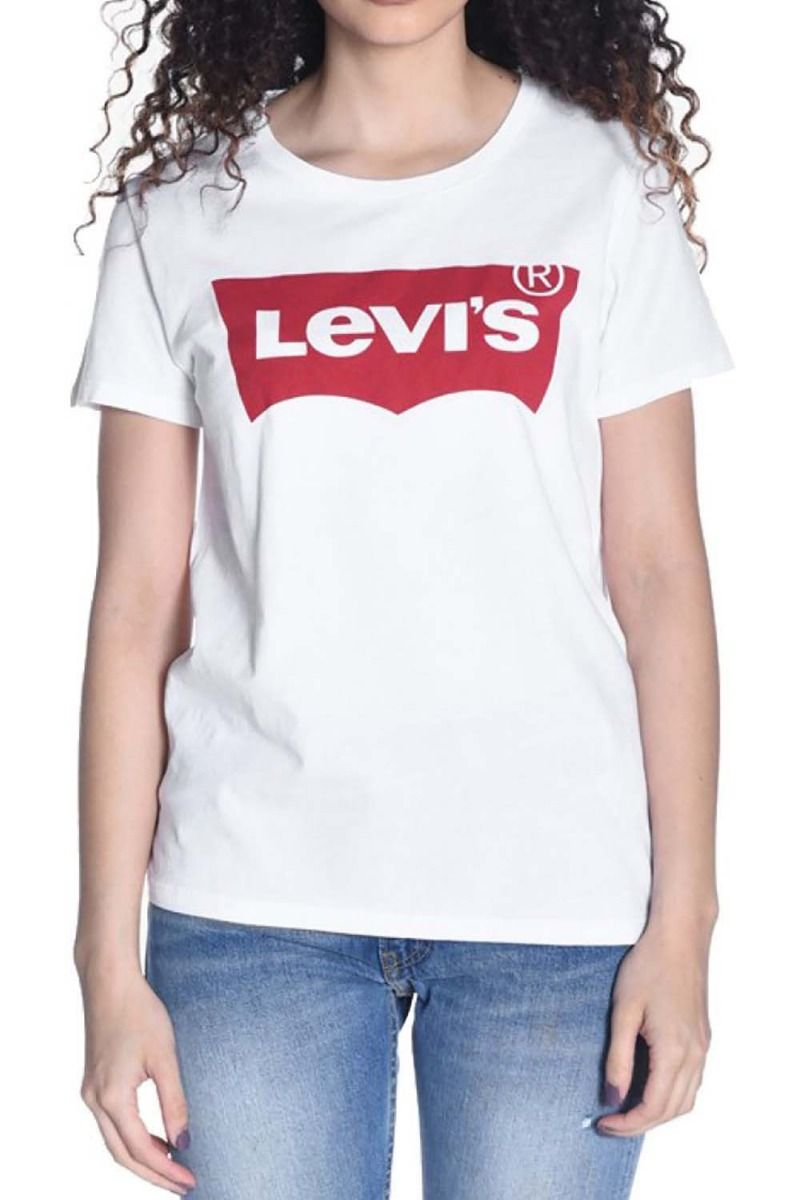 Levis T-Shirt THE PERFECT Large Batwing White