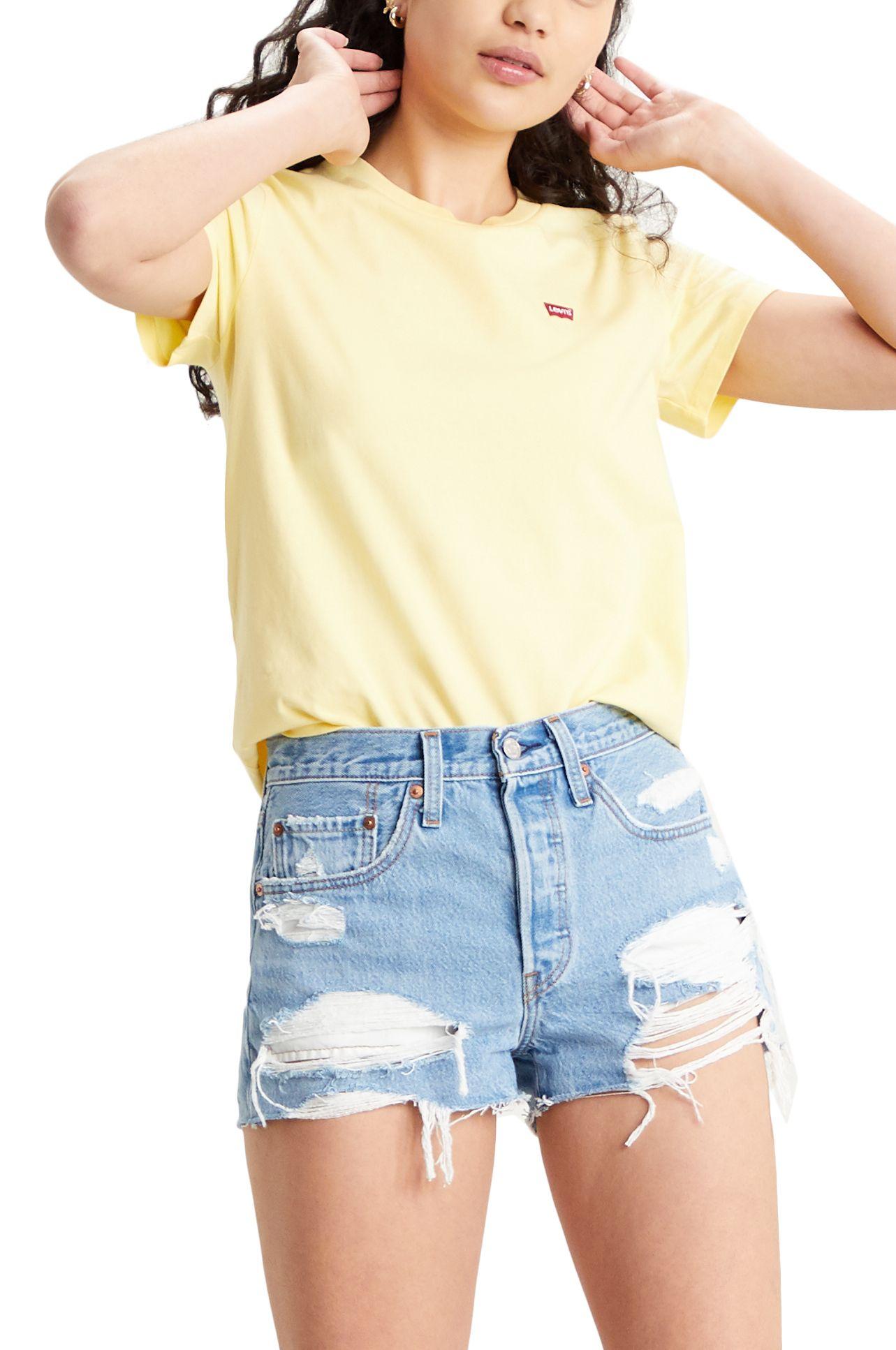 Levis T-Shirt PERFECT TEE Lemon Meringue