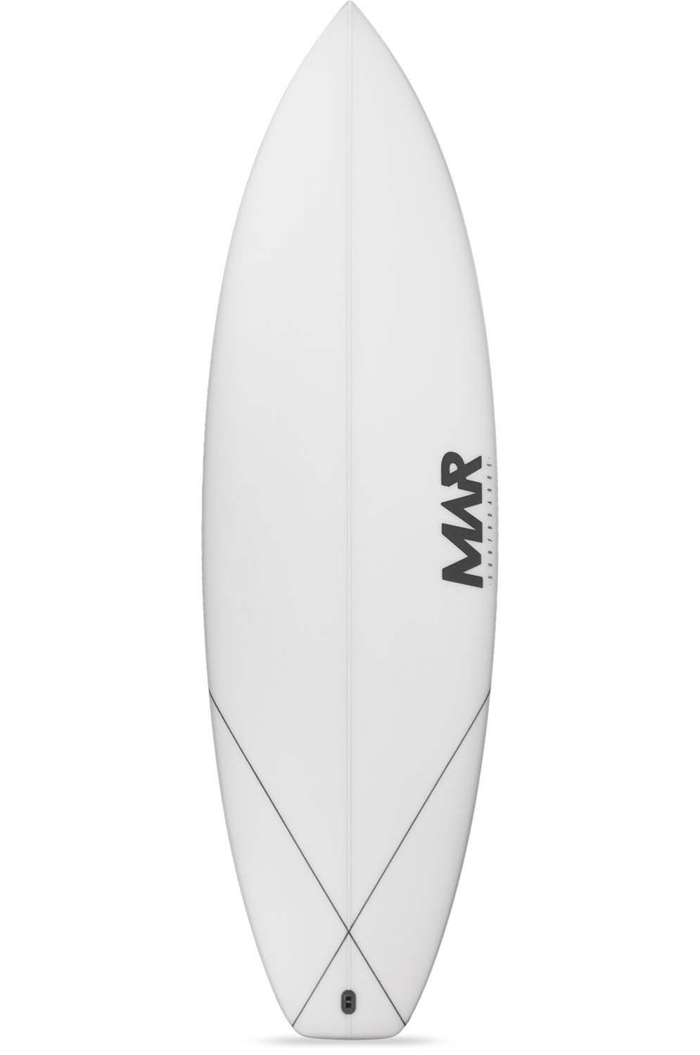 Prancha Surf Mar PARROT 5'6 Squash Tail - White FCS II 5ft6