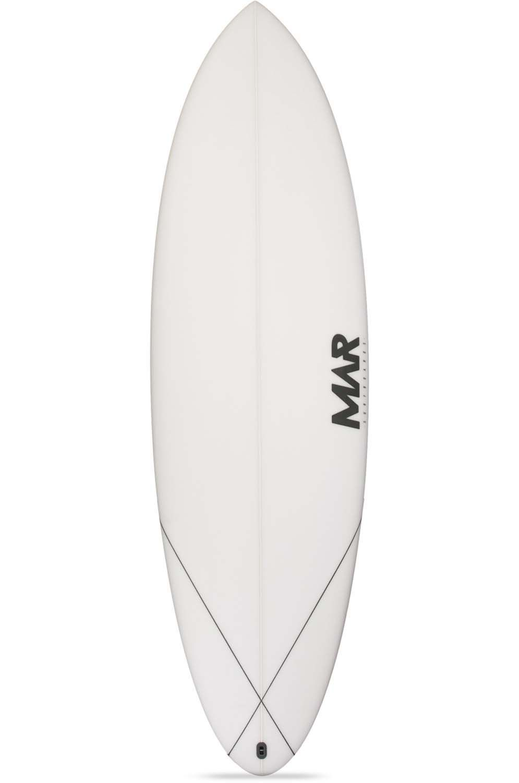 Prancha Surf Mar SEAWOLF 5'7 Round Tail - White FCS II Multisystem 5ft7