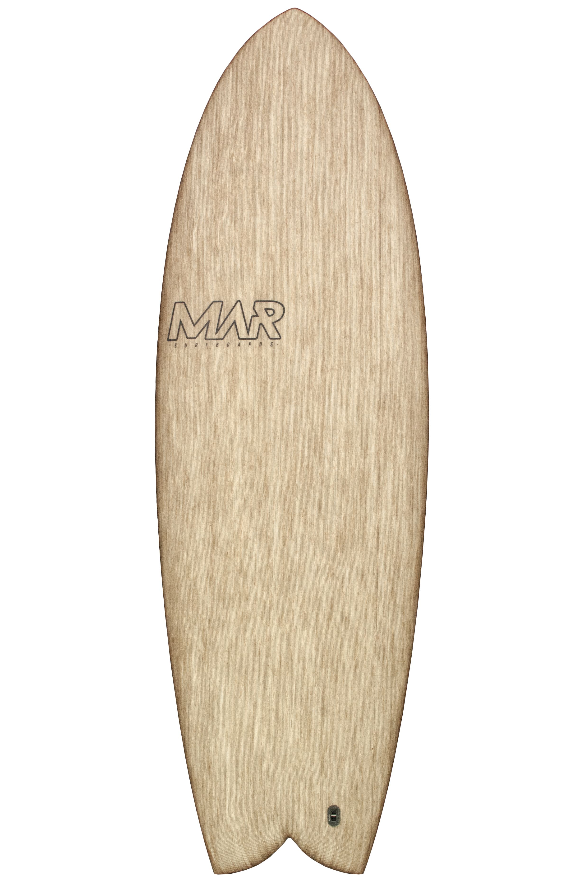 Mar Surf Board 5'4 THE 2 Swallow Tail - Color FCS II Twin Tab 5ft4