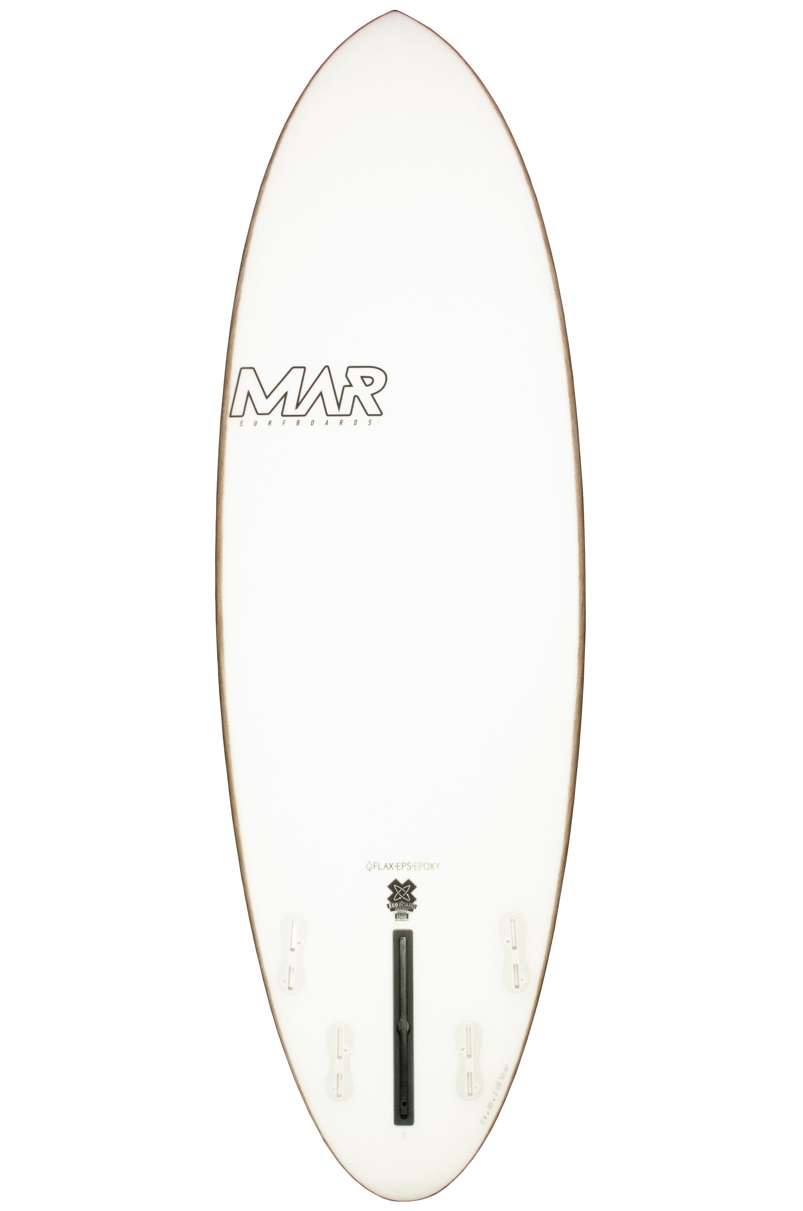Prancha Surf Mar THE 1 2 4 Round Pin Tail - Color 4 + 1 6ft0
