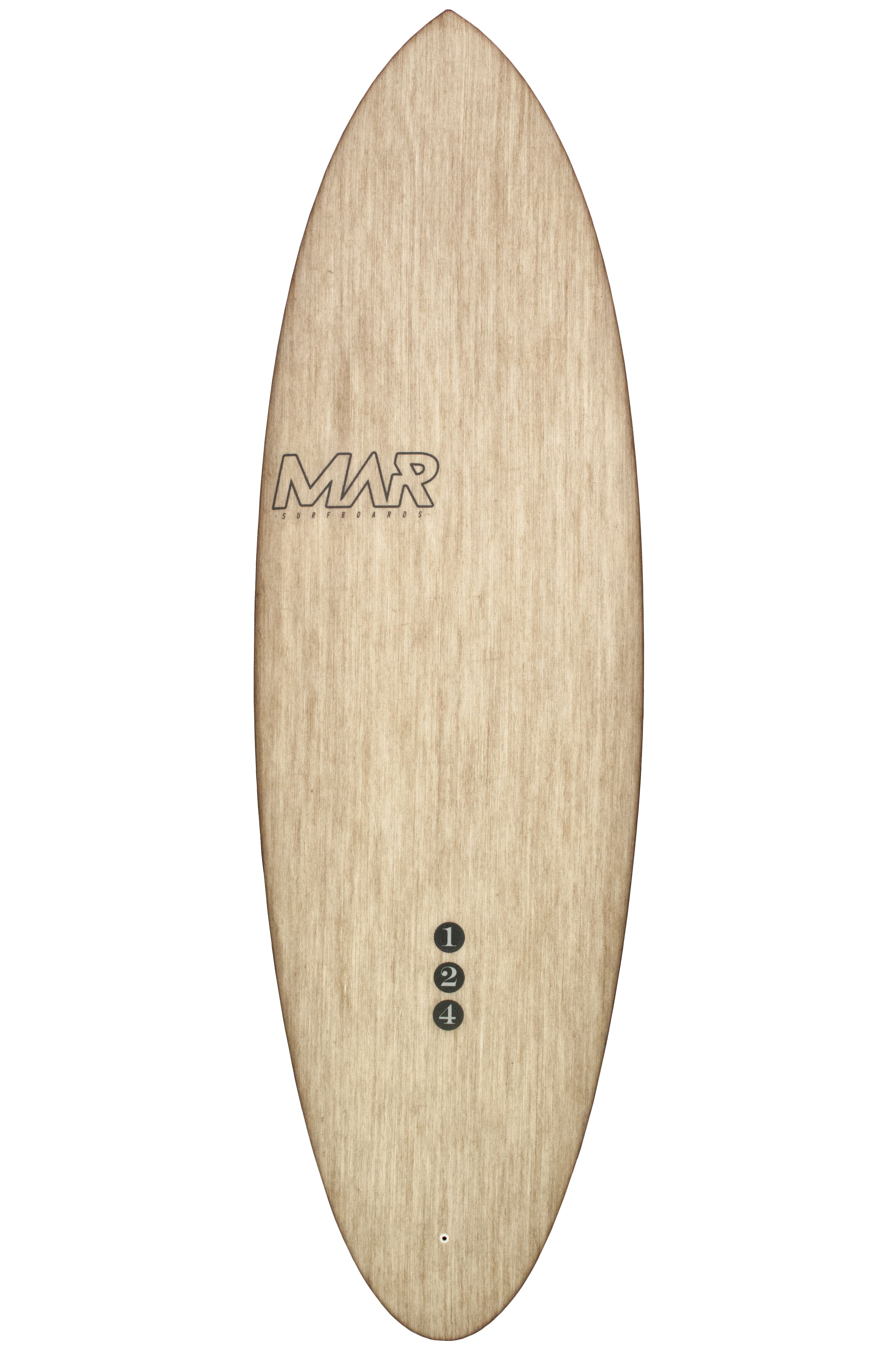 Prancha Surf Mar THE 1 2 4 Round Pin Tail - Color 4 + 1 6ft2