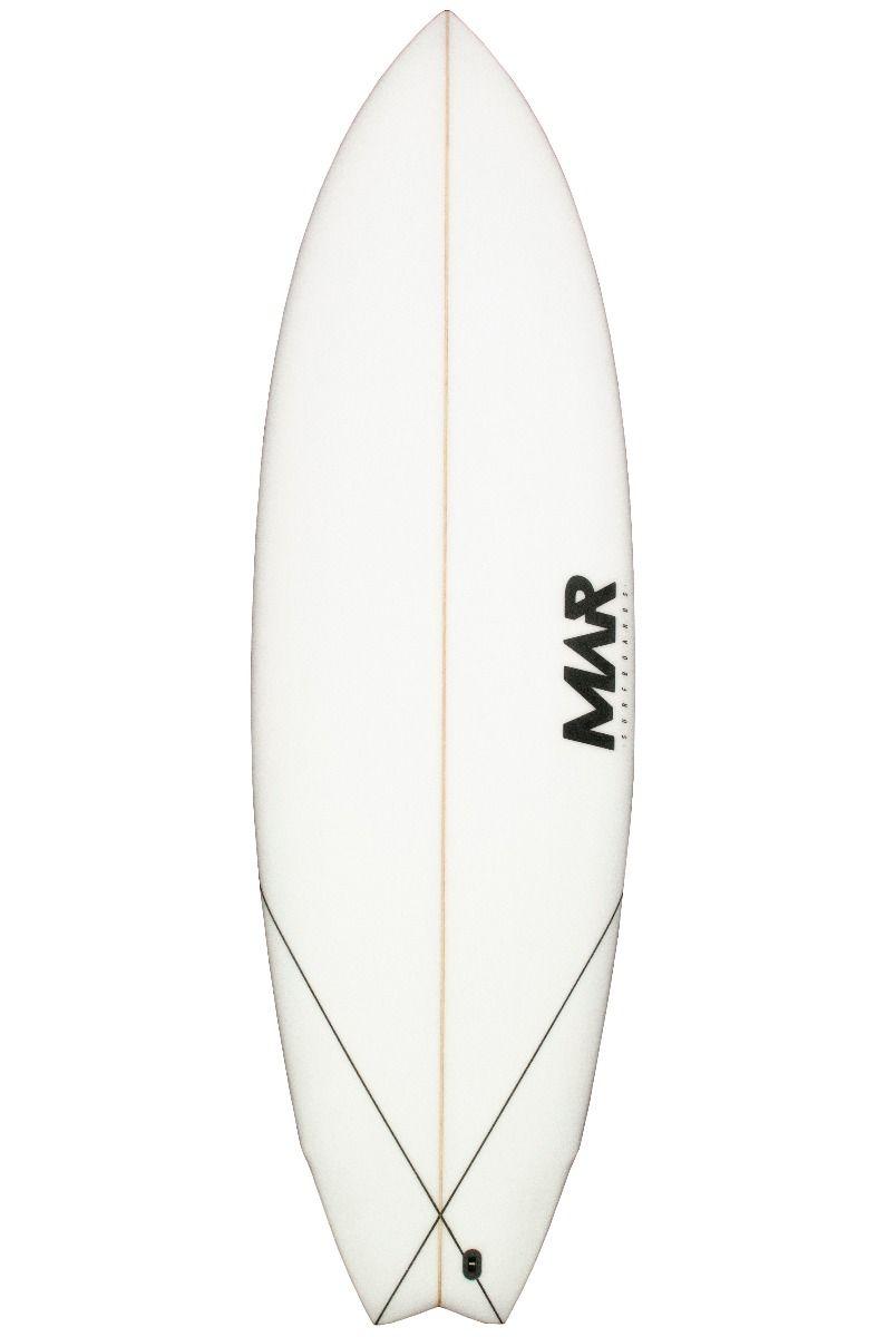 Prancha Surf Mar 5'8 FISHERMAN Fish Tail - White FCS II Multisystem 5ft8