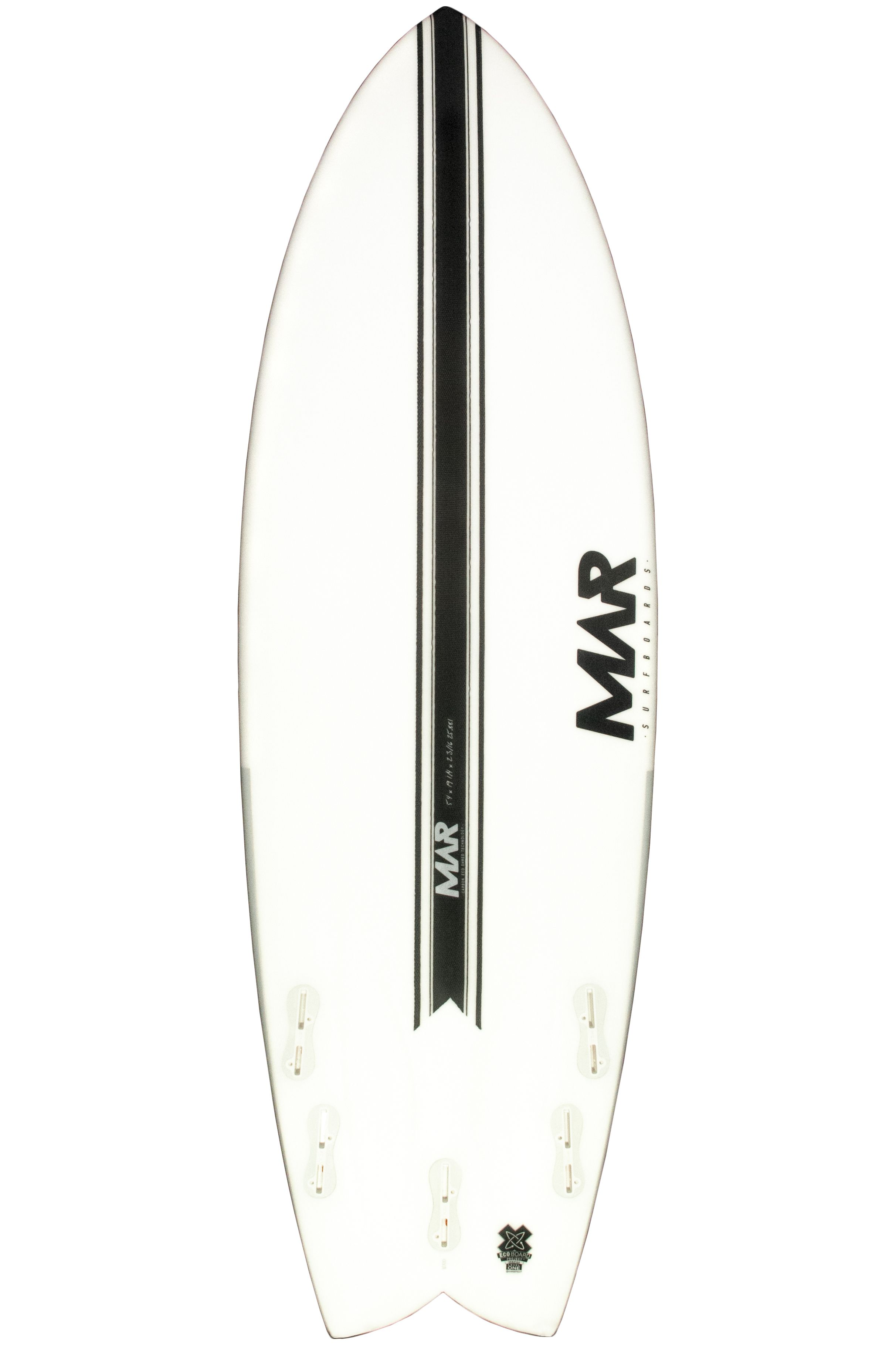 Prancha Surf Mar THE 4 LCT 6'0 Fish Tail - White FCS II Multisystem 6ft0