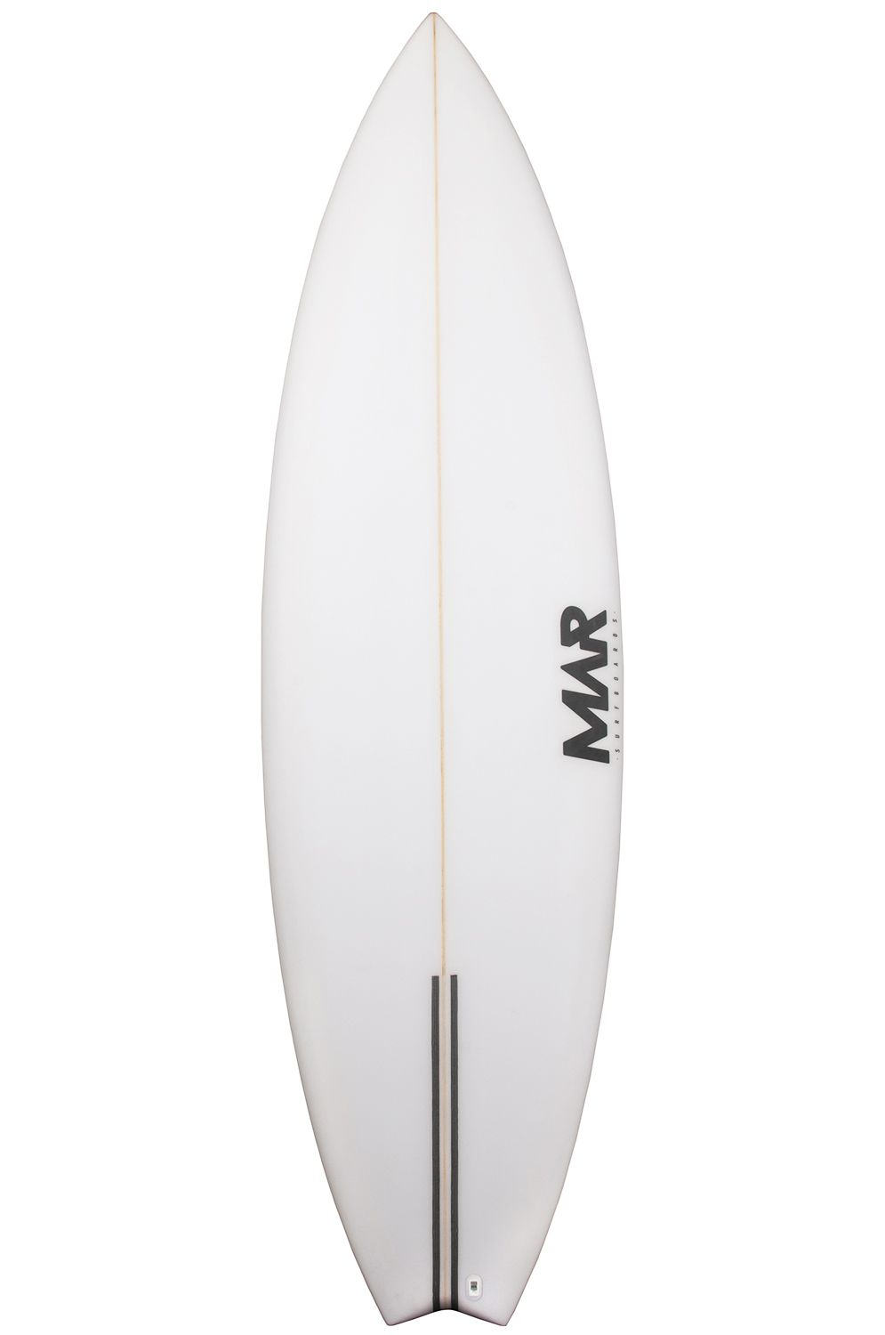 Mar Surf Board 6'3 PARROT PU Swallow Tail - White FCS II 6ft3