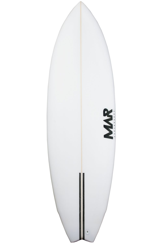 Prancha Surf Mar 6'8 FISHERMAN PU Swallow Tail - White FCS II Multisystem 6ft8