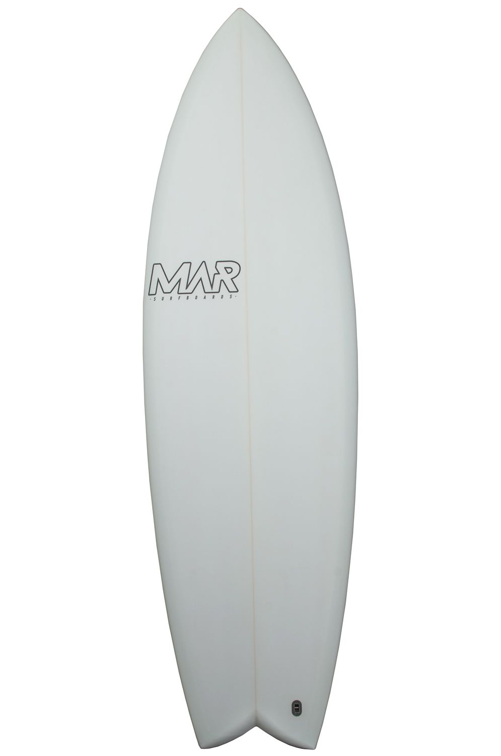 Prancha Surf Mar 5'10 THE 4 MINT Fish Tail - Color FCS II Multisystem 5ft10