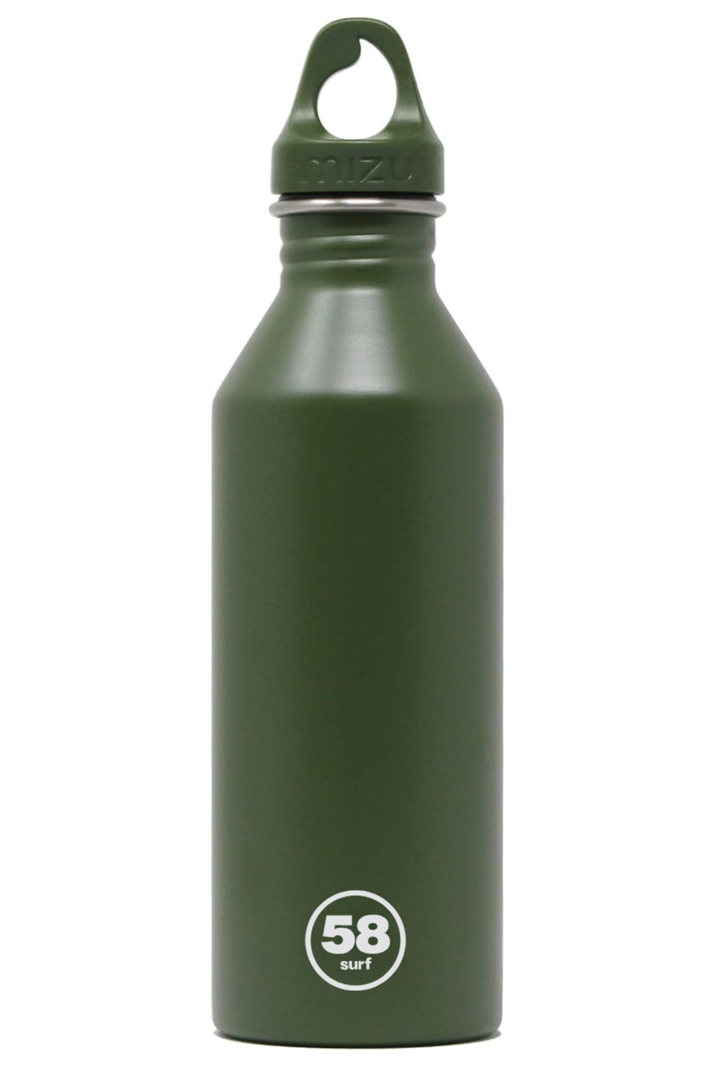 Mizu Bottle vs 58 Surf M8 Army Green