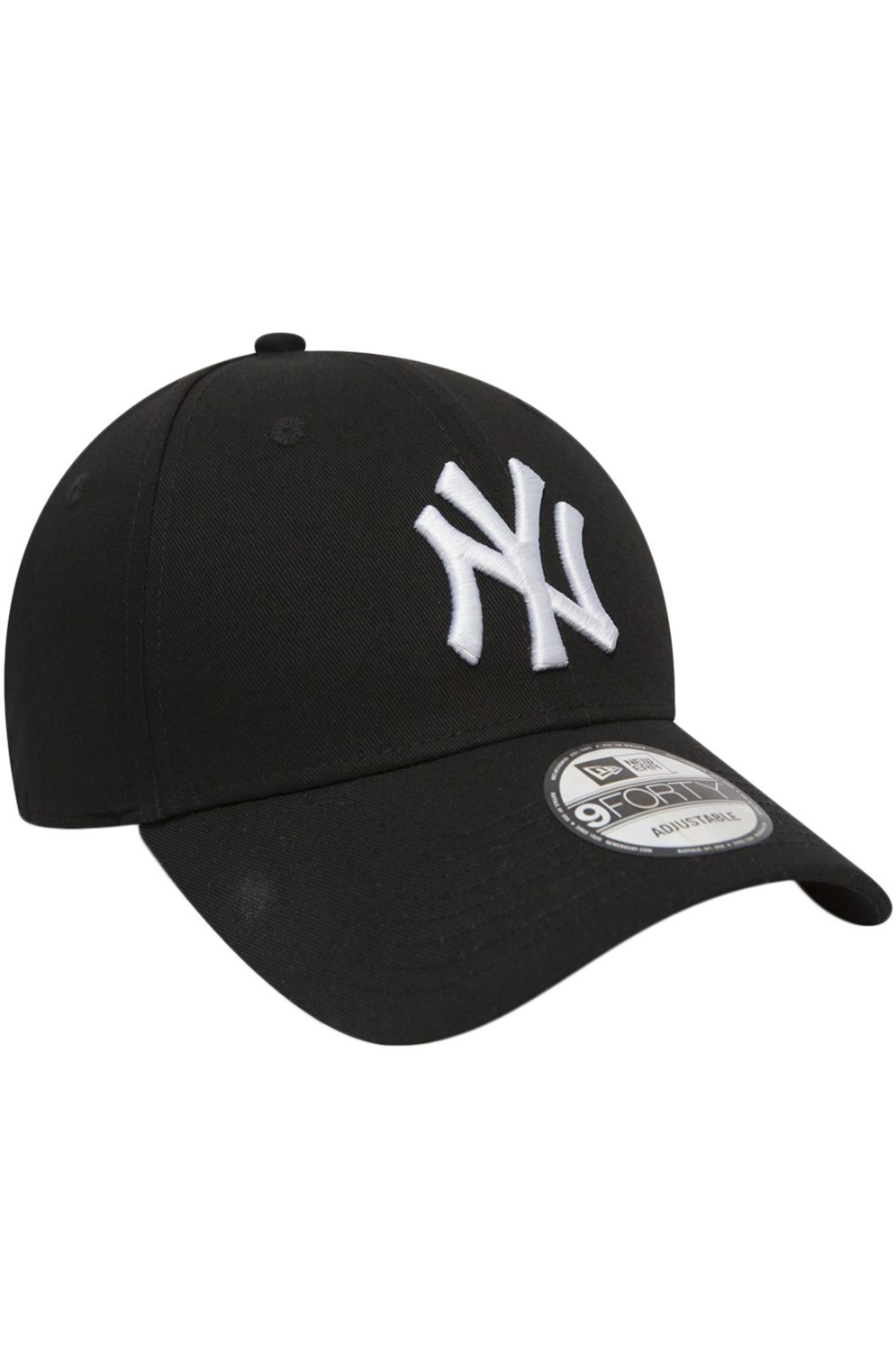 680c5fddea808 ... New Era Cap 940 LEAGUE BASIC NEW YORK YANKEES Black Optic White