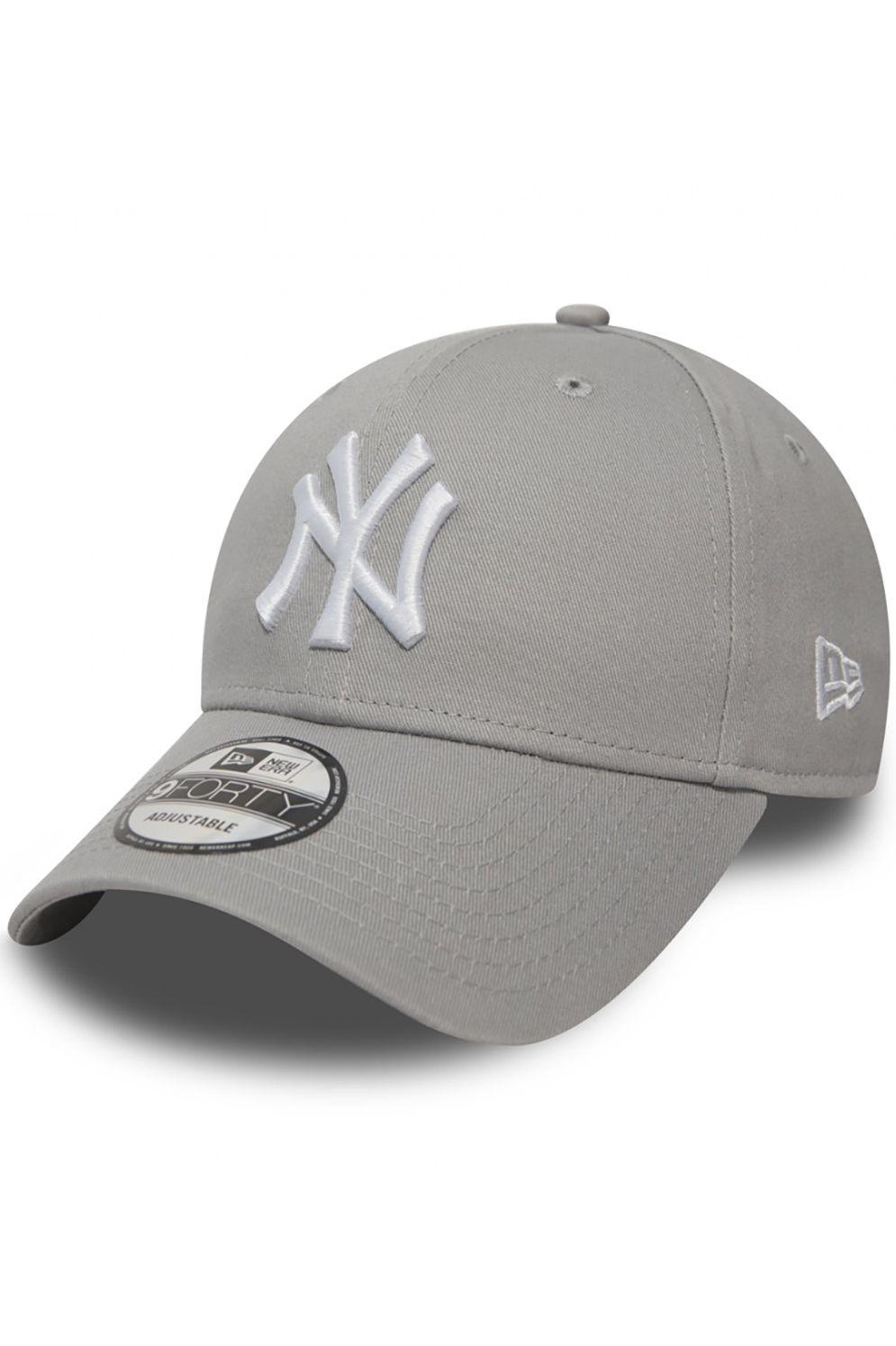 New Era Cap   940 LEAGUE BASIC NEW YORK YANKEES Grey/White