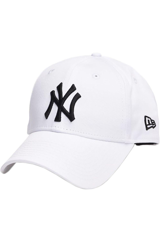 Bone New Era 940 LEAGUE BASIC NEW YORK YANKEES Optic White/Black