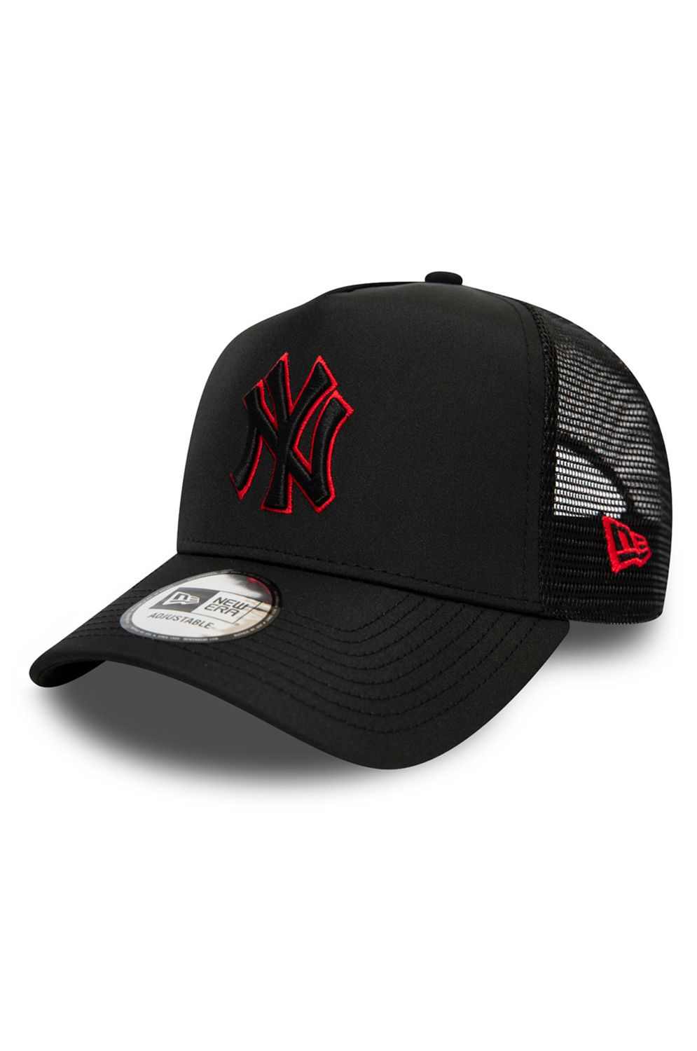 Bone New Era NYLON FRONT MLB AF TRUCKER NEYYAN Black