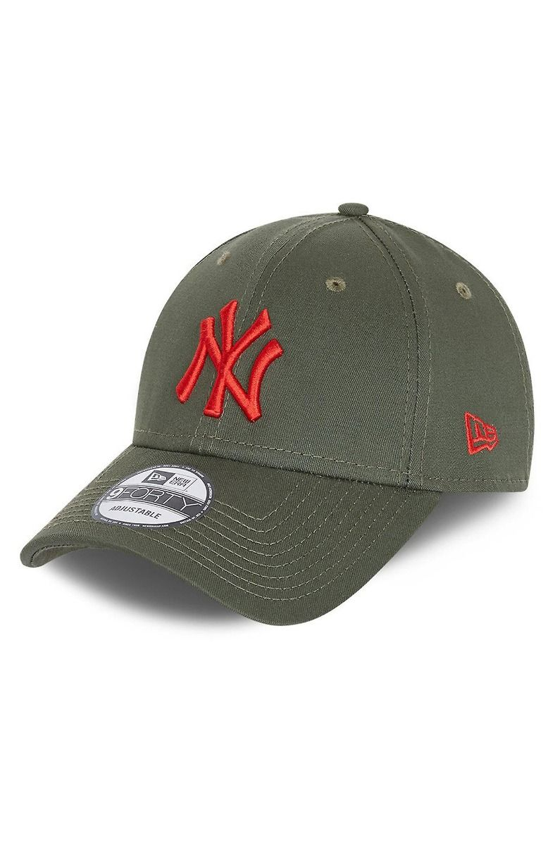 Bone New Era LEAGUE ESSENTIAL 9FORTY NEYYAN NOVOXF Green Med