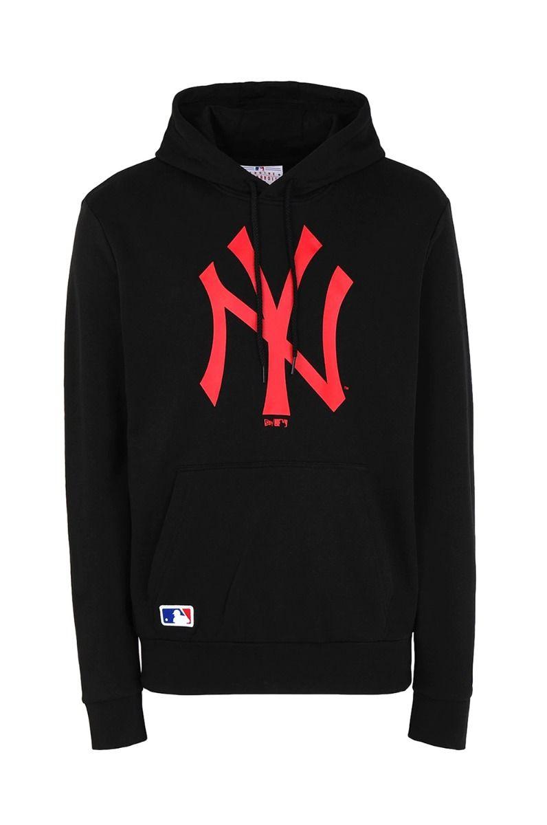 New Era Sweat Hood MLB SEASONAL TEAM LOGO HDY NEYYAN Black/Cyr