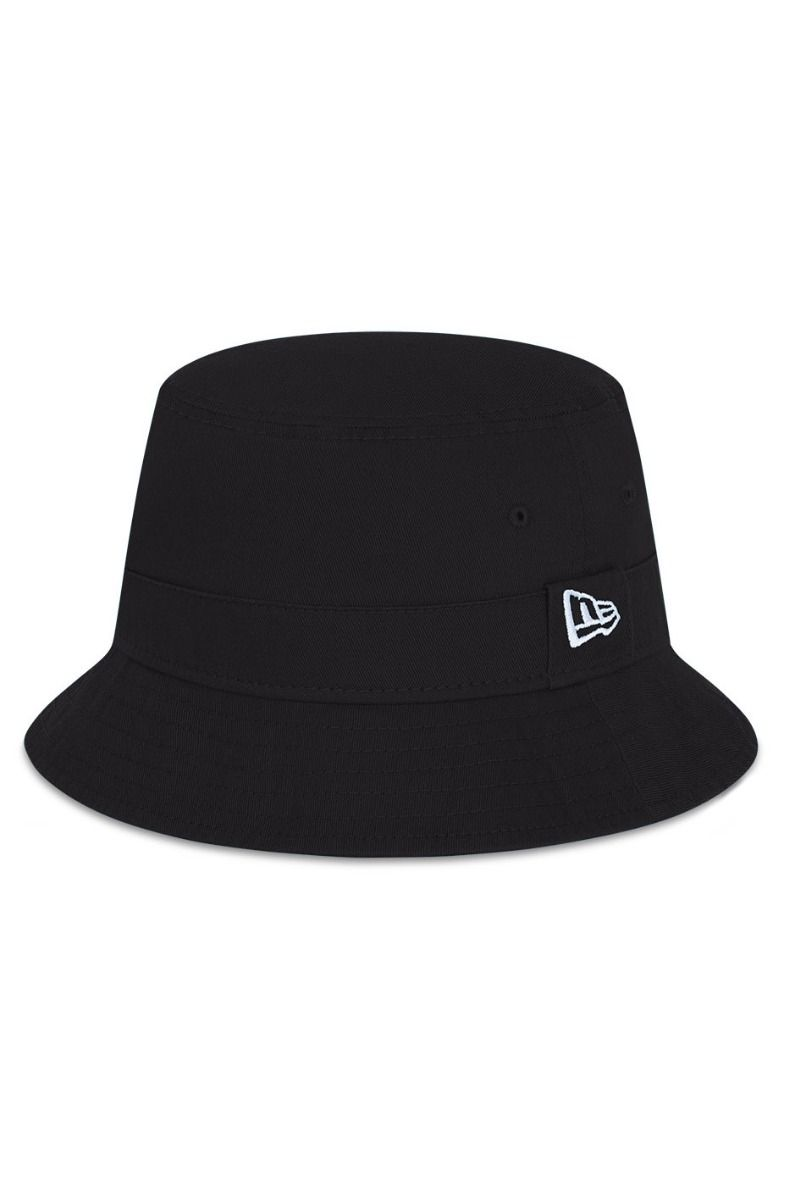 Chapeu New Era NEW ERA ESSENTIAL BUCKET BLK Black