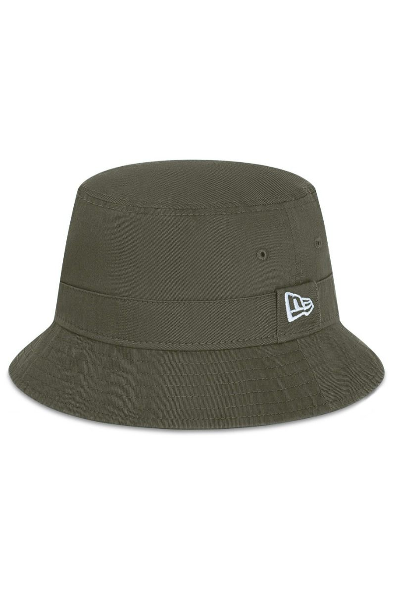 Chapeu New Era NEW ERA ESSENTIAL BUCKET NOV Green Med