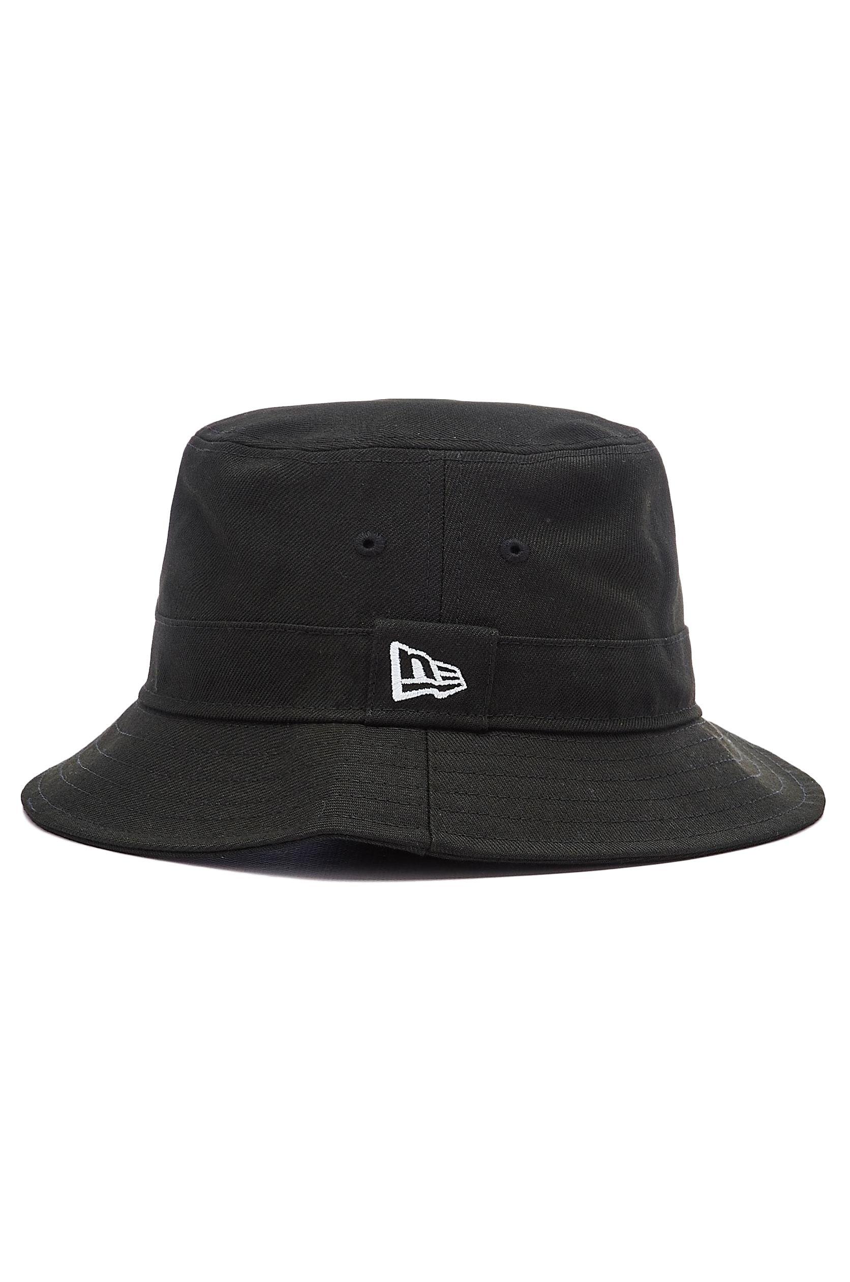 New Era Cap NE ESSENTIAL BUCKET Black