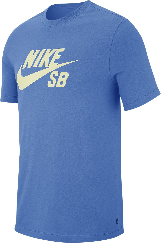 Nike Sb T-Shirt DFCT LOGO Pacific Blue/Sail