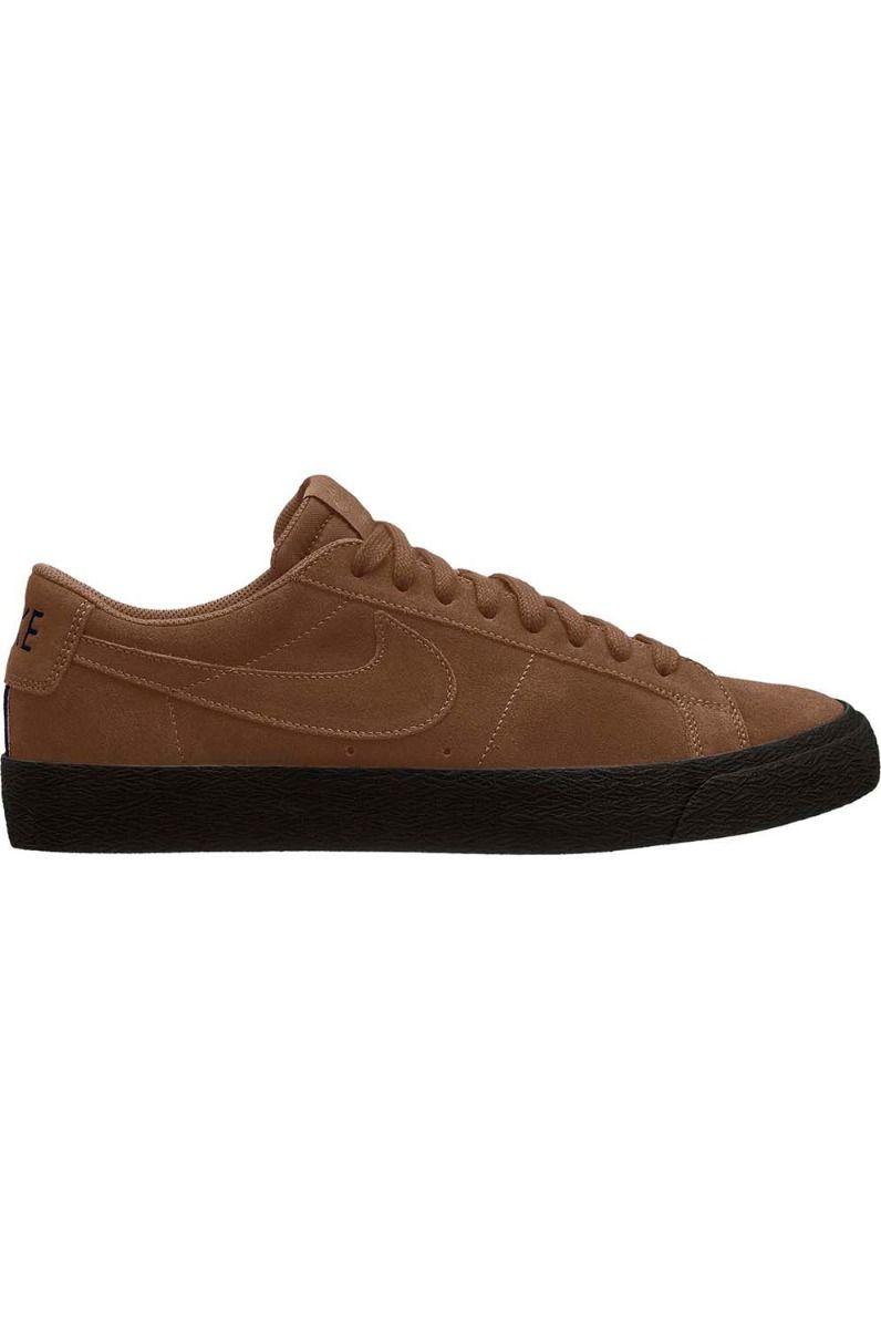 Nike Sb Shoes ZOOM BLAZER LOW Lt British Tan/Lt British Tan-Black