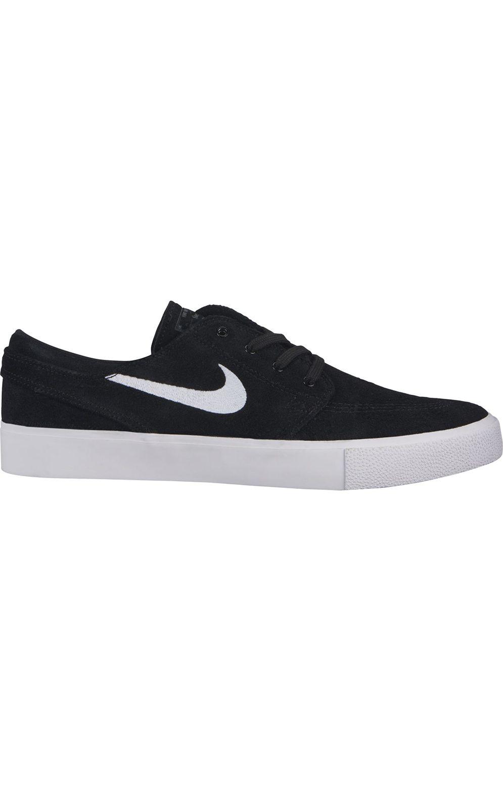 Nike Sb Shoes ZOOM STEFAN JANOSKI RM Black/White-Thunder Grey-Gum Light Brown