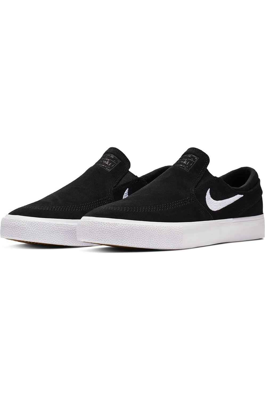 Tenis Nike Sb ZOOM STEFAN JANOSKI SLIP RM Black/White-White