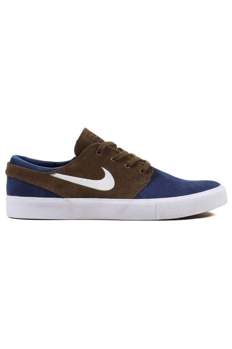 Nike Sb Shoes NIKE SB ZOOM JANOSKI RM Mystic Navy/Sail-Yukon Brown-White