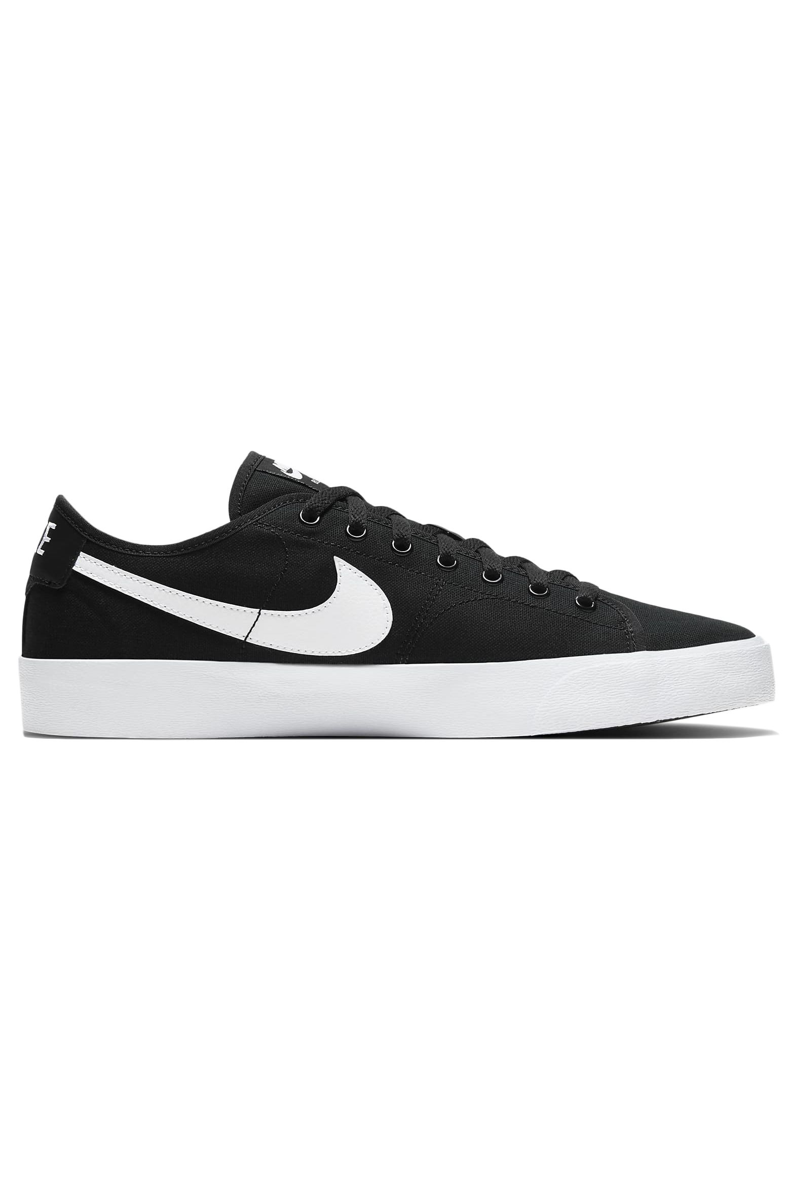 Nike Sb Shoes BLAZER COURT Black/White-Black-Gum Light Brown