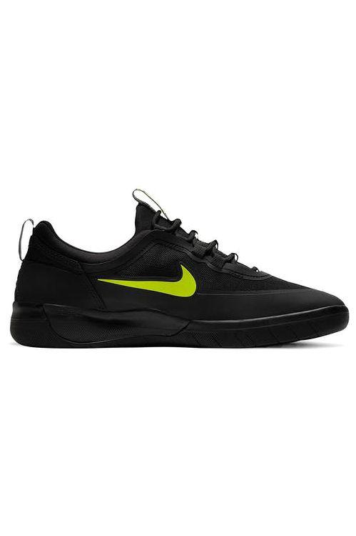 Nike Sb Shoes NYJAH FREE 2 Black/Cyber-Black-Black