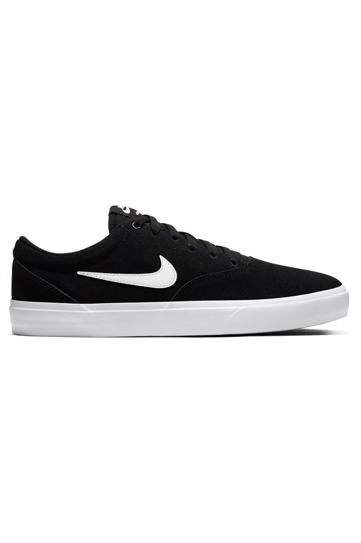 Nike Sb Shoes CHARGE SUEDE Black/White-Black